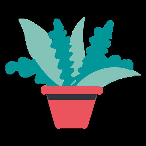Planta en maceta dibujada a mano