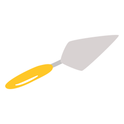 Putty knife flat
