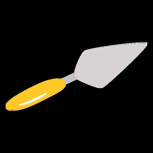 Putty knife flat