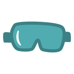 Science goggles flat