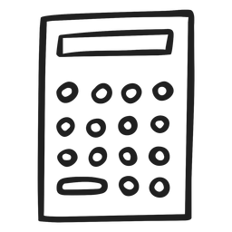 Doodle de calculadora simples