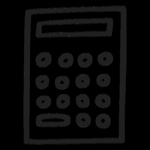Simple calculator doodle