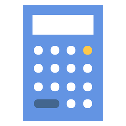 Simple calculator flat