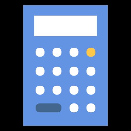 Simple calculator flat Transparent PNG