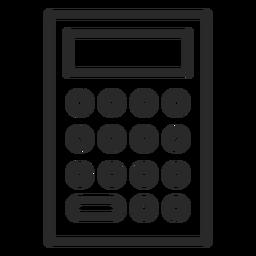 Carrera calculadora simple