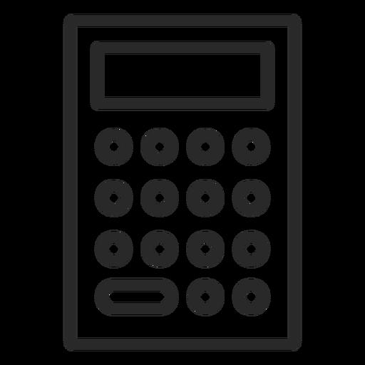 Carrera calculadora simple Transparent PNG