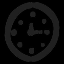 Doodle de reloj simple