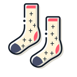 Socks storke icon