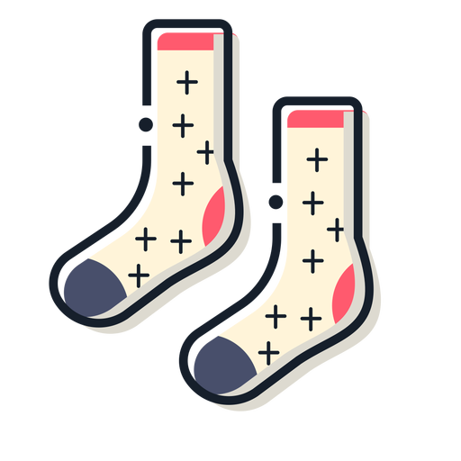 Socks storke icon Transparent PNG