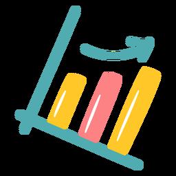 Gráfico de mejora de escala plano