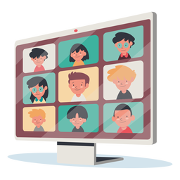 Video call with kids monitor