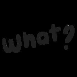 What question doodle