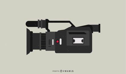 Videocámara HDR-FX1 plana