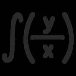 Integral math stroke