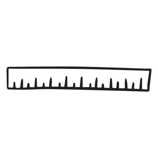 School ruler doodle ruler
