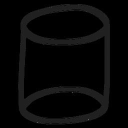 Zylinder kritzeln