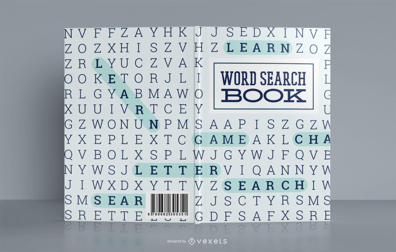 Word Search Book Cover Design