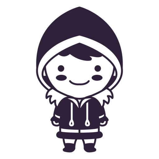 Trazo de chico lindo personaje de Alaska