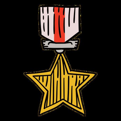 Premia a primeira estrela desenhada à mão