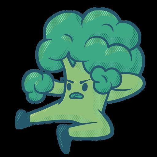 Broccolee fighter flat