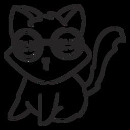 Curso de gato fresco de catástrofe