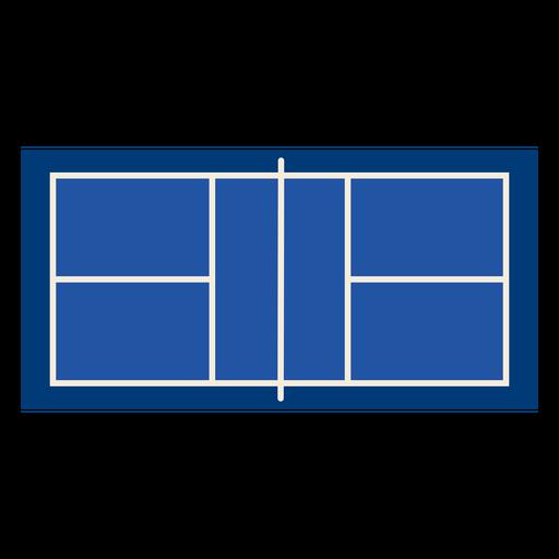 Court top pickleball flat Transparent PNG