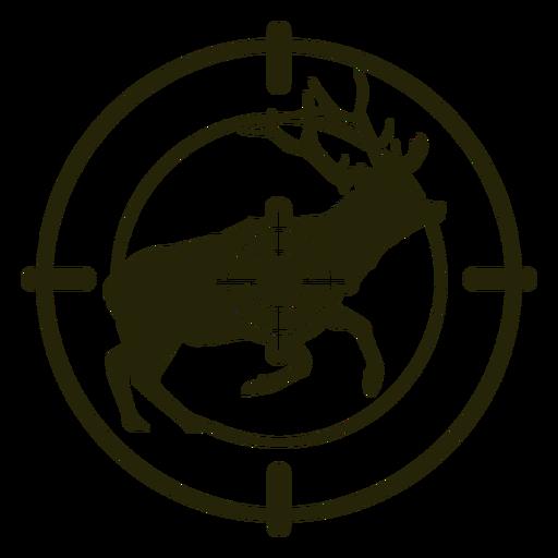 Deer shooting running right stroke