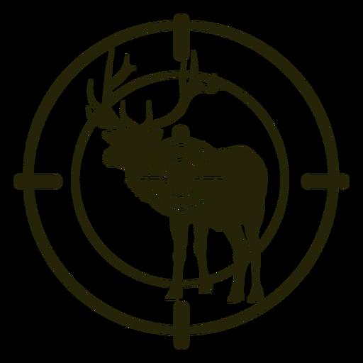 Deer shooting standing stroke