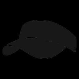 Chapéu pickleball preto