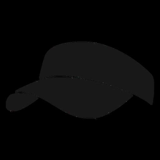 Hat pickleball black Transparent PNG