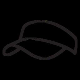 Curso de elemento do chapéu pickleball