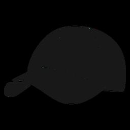 Chapéu redondo pickleball preto