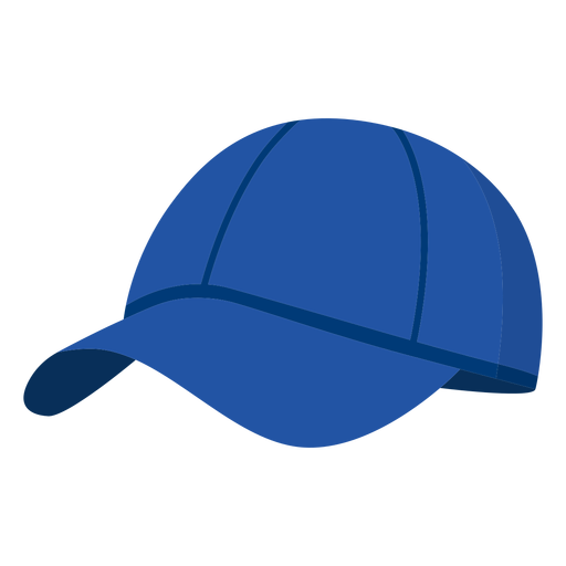 Sombrero redondo pickleball element flat Transparent PNG