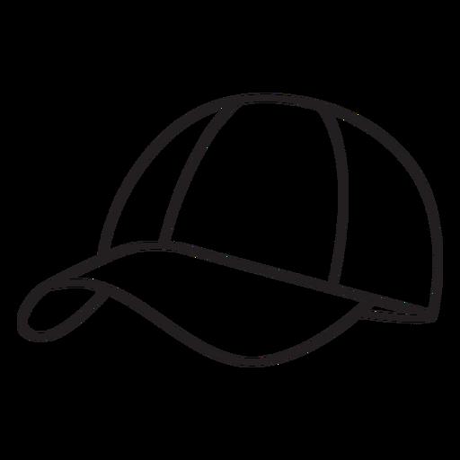 Hat round pickleball element stroke