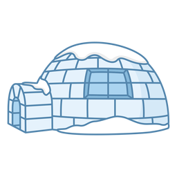 Igloos left window flat