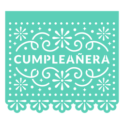 Papel picado birthday girl