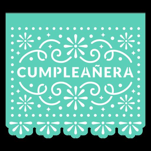 Papel picado birthday girl