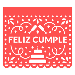 Papel picado happy birthday