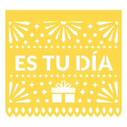 Papel picado its your day