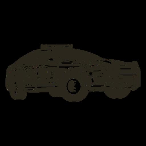 Luces de coche de policía modernas Transparent PNG