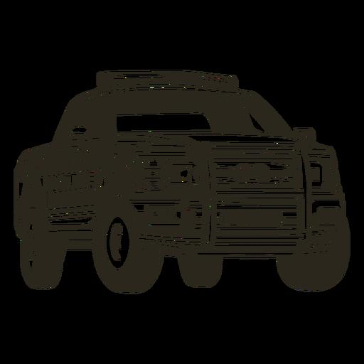 Coche de policía camioneta derecha coche de policía Transparent PNG