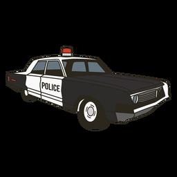 Sirena de coche de policía derecha