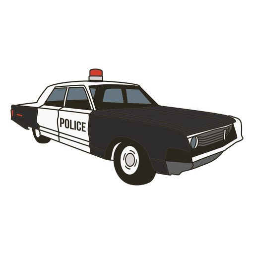 Police car siren right Transparent PNG