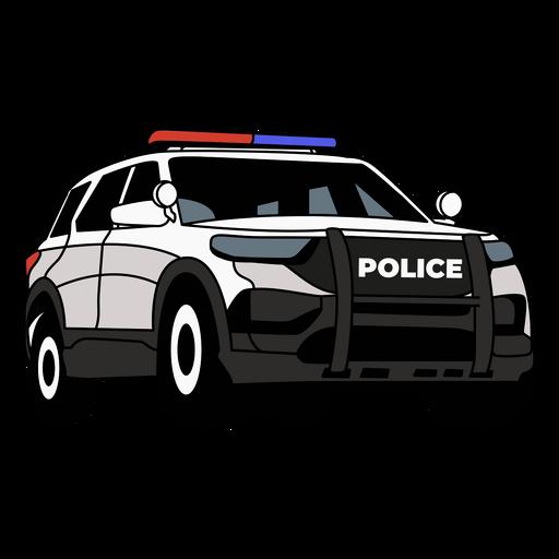 Police car truck