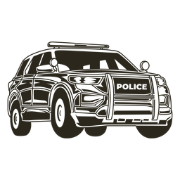 Police car truckt