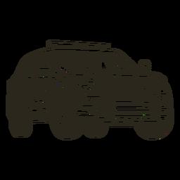 Truckt do carro de polícia