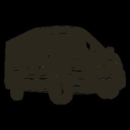 Police car van