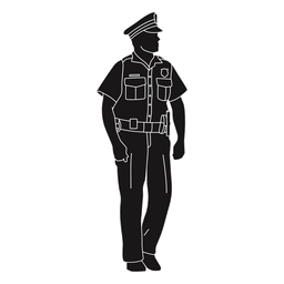 Police policeman standing