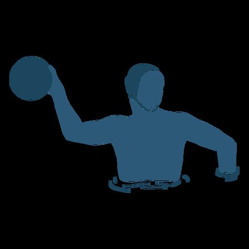 Waterpolo man posing