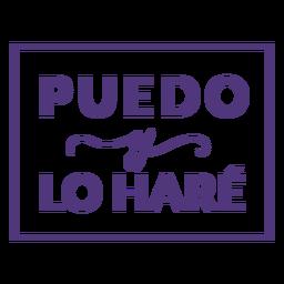 Womens dia espanhol eu posso letras
